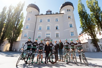 Bora Hansgrohe German Professional Cycling Team in Osttirol